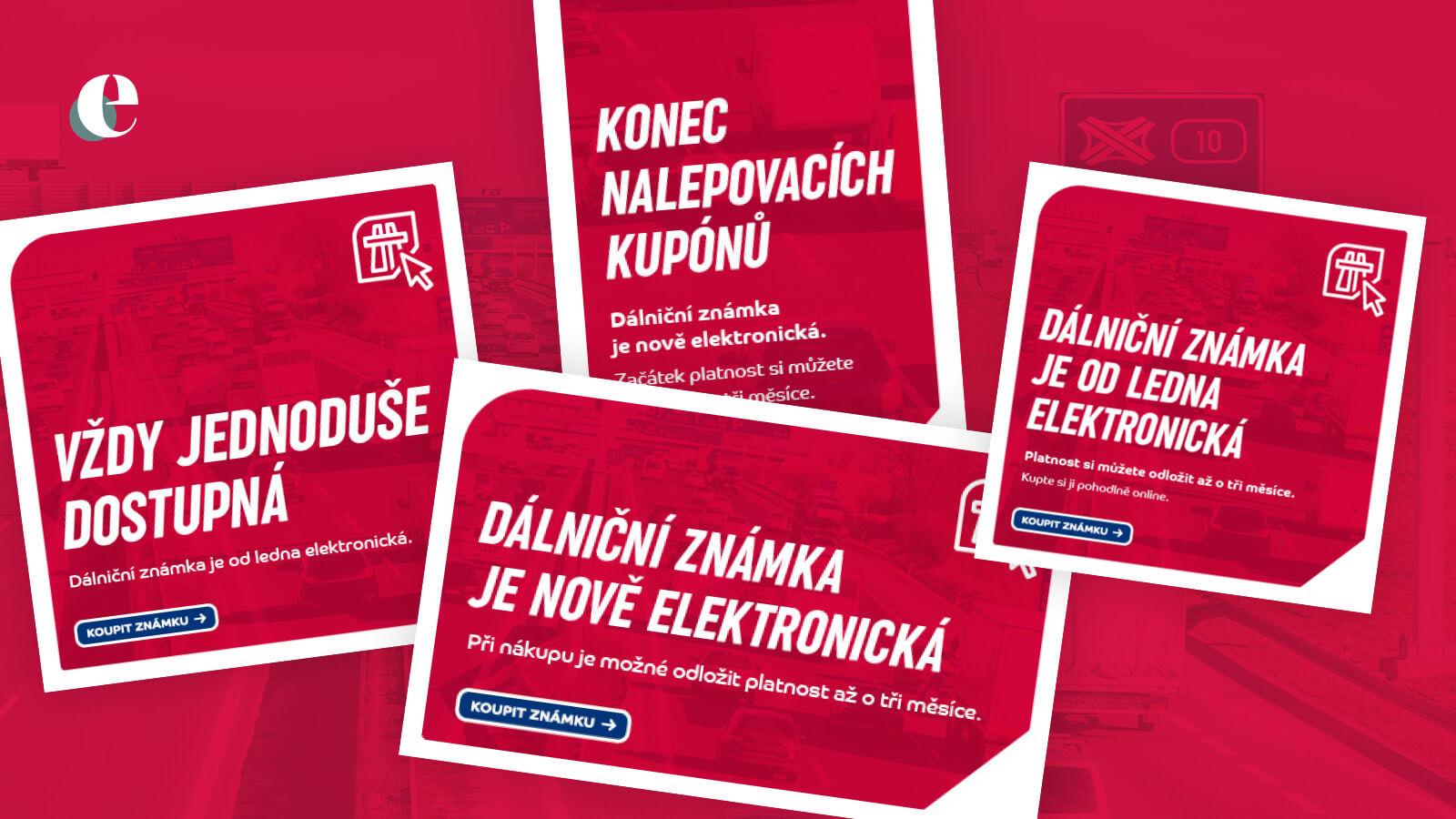 Kampaň na elektronickou dálniční známku